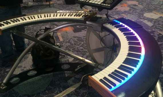 PianoArc debuts the new Dual Wing at NAMM 2016
